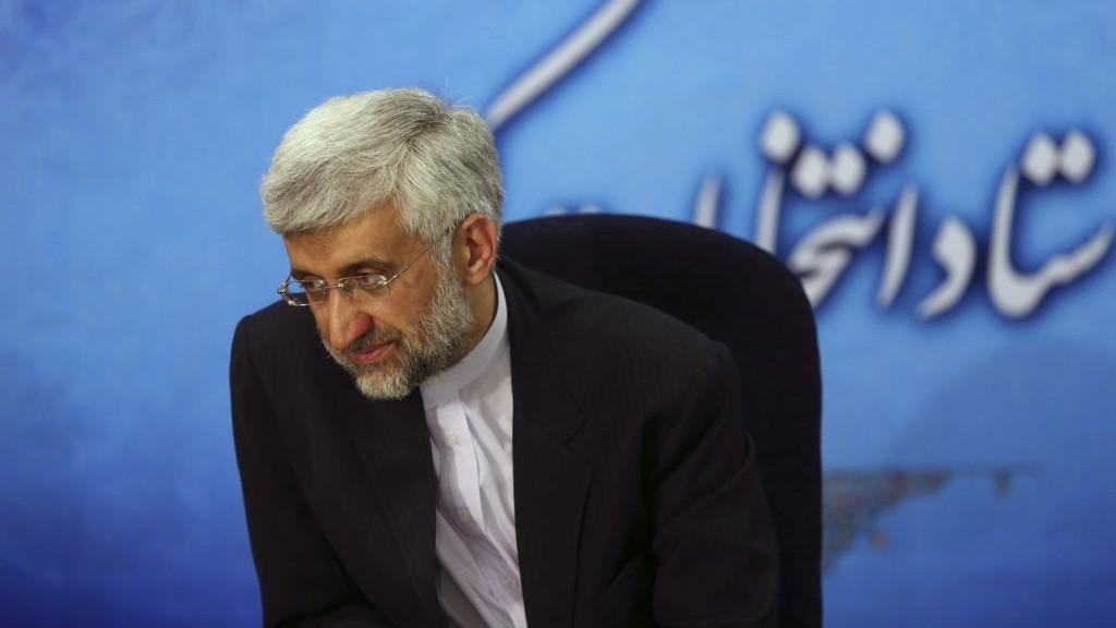 Iran's top nuclear negotiator Saeed Jalili (photo credit: AP Photo/Ebrahim Noroozi)