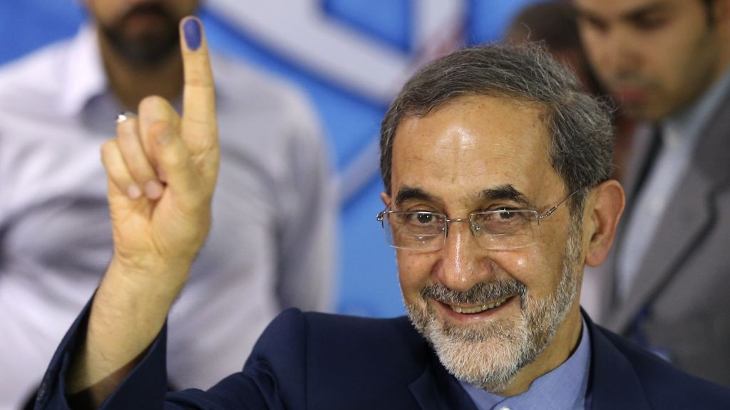Conservative former Iranian Foreign Minister, Ali Akbar Velayati, a senior advisor to supreme leader Ayatollah Ali Khamenei (photo credit: AP Photo/Ebrahim Noroozi)