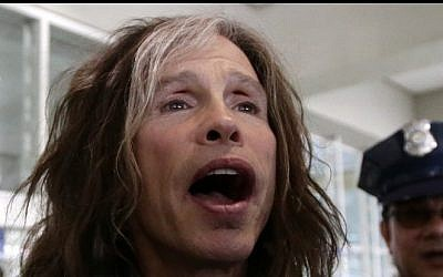 Steven Tyler of the Aerosmith rock band, May 5, 2013, in Manila, Philippines, during a world tour. (AP/Bullit Marquez)