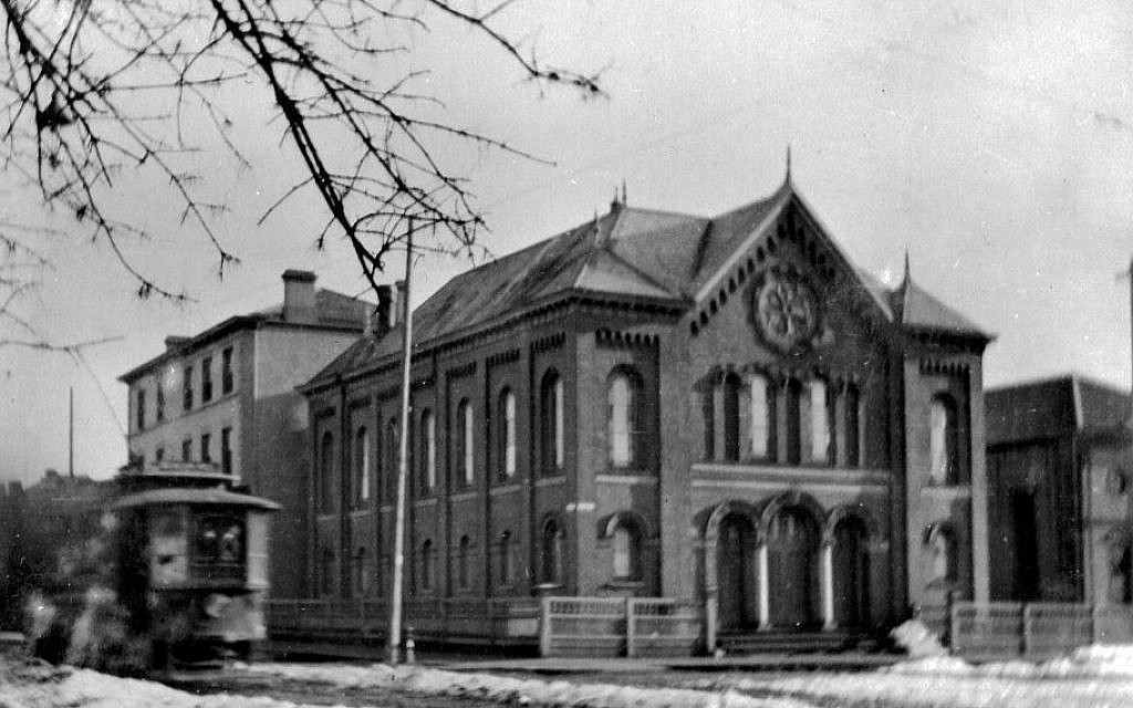 Temple Emmanu-el, c1900 (photo credit: Courtesy of Congregation Emanu-El, Victoria)