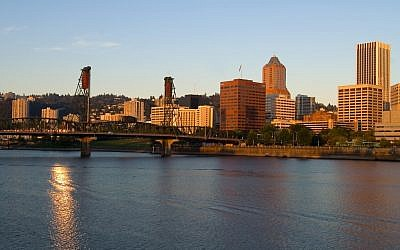 Portland, Oregon (photo credit: Stuart Seeger/Creative Commons/via JTA)