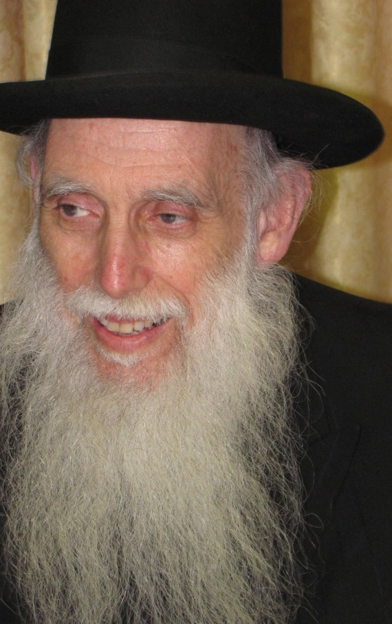Rabbi Aharon Feldman (photo credit: CC BY-SA Yoninah, Wikimedia Commons)