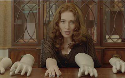 Regina Spektor, from the music video 'Don't leave me.' (screen capture: YouTube/ReginaSpektor)