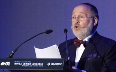 Dr. Peter Feldmajer (photo credit: screen capture/WJC)