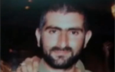 Beersheba shooter Itamar Alon. (photo credit: image capture from Channel 2)