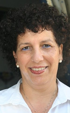 Talia Levanon, director of ITC. (photo credit: Matt Lebovic/Times of Israel)
