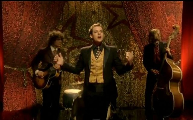 The Killers in the music video to their hit song 'Mr. Brightside' (screen capture: YouTube/TheKillersVEVO)