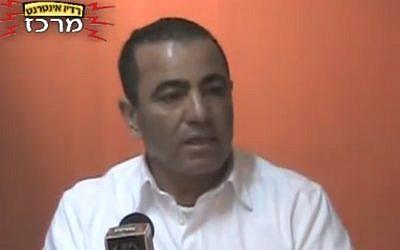 Yossi Ben-David (photo credit: screen capture radiomerkaz/Youtube)