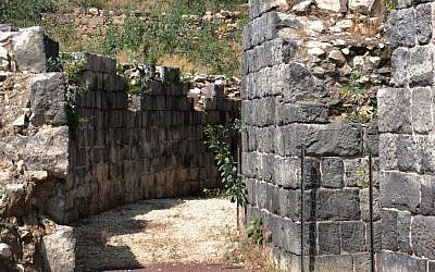 Entrance to Roman theater (photo credit: Shmuel Bar-Am)