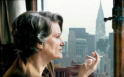 Back in NY, Arendt became persona non grata for her 'banality of evil' ideology. (photo credit: Zeitgeist Films)