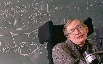 Famed physicist Stephen Hawking. (CC-BY elhombredenegro/Flickr)