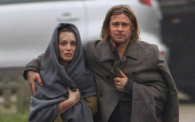ผลการค้นหารูปภาพสำหรับ world war z film 2013 scenes daniella kertesz