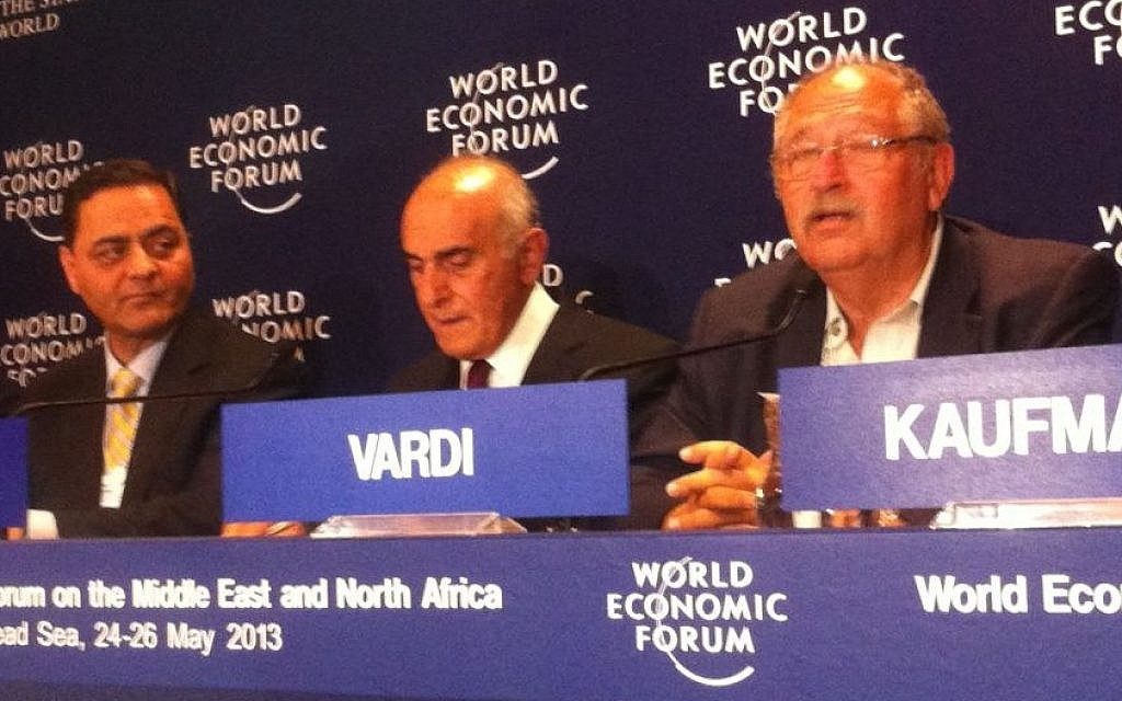 Vardi, Al-Masri and Khalili launch 'Break the Impasse' in Jordan on Sunday (photo credit: Times of Israel staff)