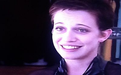 Daniella Kertesz (photo credit: Channel 10 screenshot)