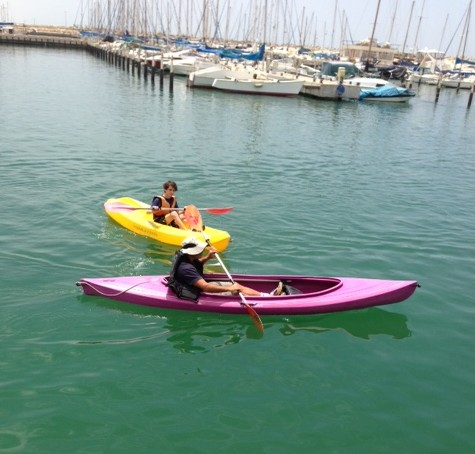 Ashkelon students get to take sailing lessons as part of their lesson plan (photo credit: David Zwebner)