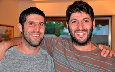 Roee (left) and Nadav Ziv, the founders of Tellavista (Courtesy Tellavista Facebook page)