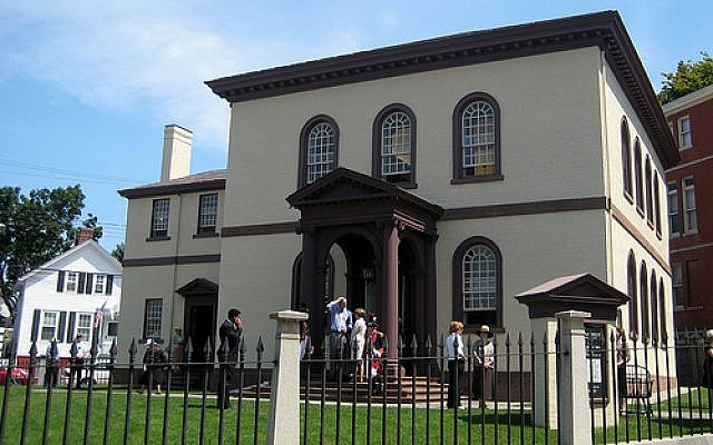 Newport's Touro Synagogue (photo credit: Courtesy)