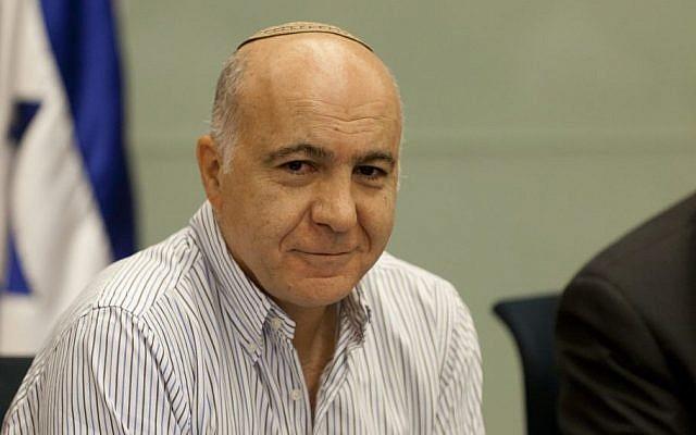 Former Shin Bet head Yoram Cohen. (Flash90)