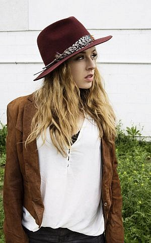 ZZ Ward in her signature fedora. (photo credit: Andi Elloway/Courtesy of Big Hassle Publicity)