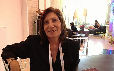 Israeli security official Sima Shine (photo credit: Elhanan Miller/Times of Israel)
