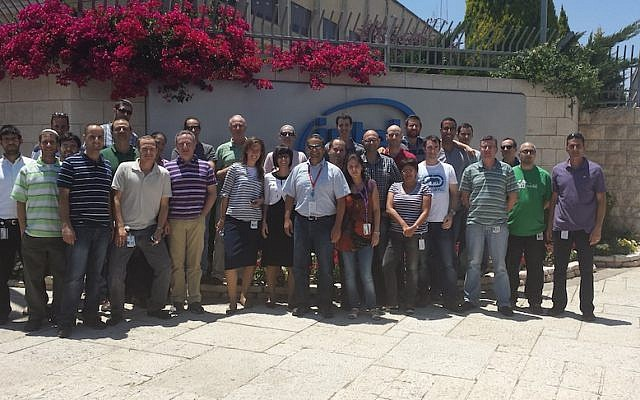 Members of the Intel Jerusalem Cloverview team (Photo credit: Courtesy)