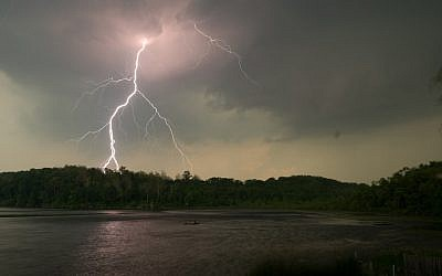 Illustrative photo of lightning. (photo credit: CC BY pennuja, Flickr)