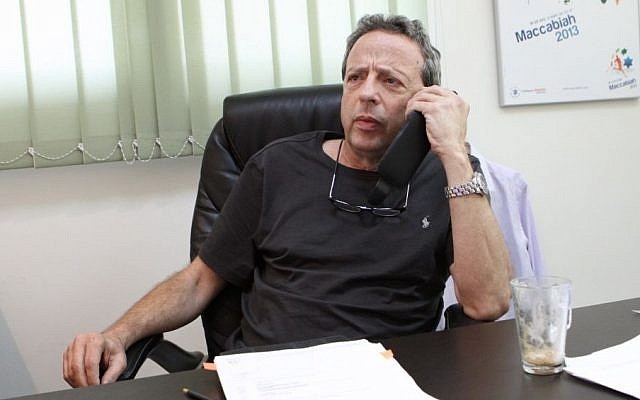 Maccabiah chairman Amir Peled (photo credit: courtesy)