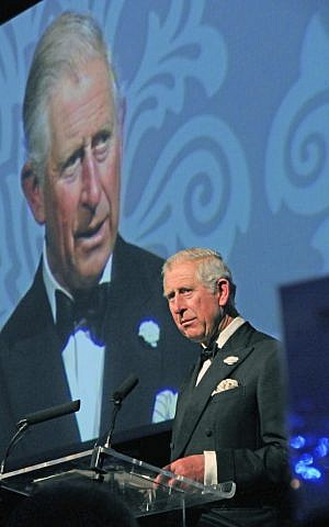 Prince Charles praises Lord Sacks as 'a light unto this nation.' (photo credit: courtesy)