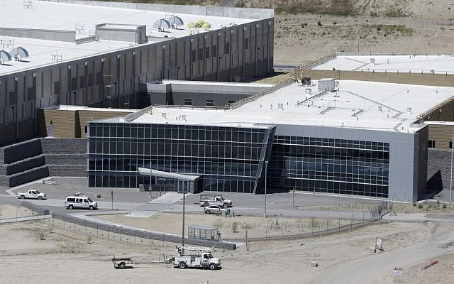 An aerial view of the NSA's Utah Data Center in Bluffdale, Utah, Thursday, June 6, 2013. (photo credit: AP Photo/Rick Bowmer)