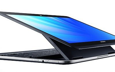 Samsung's 'Intel Inside' ATIV-Q tablet (Photo credit: Courtesy)