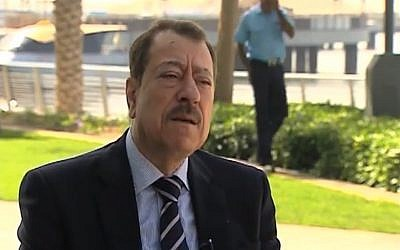 Al-Quds al-Arabi editor Abdel Bari Atwan (photo credit: screen capture/YouTube)