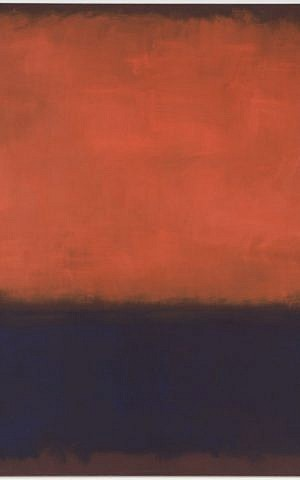 Mark Rothko, No. 14, 1960, 1960; oil on canvas (photo credit:Collection SFMOMA, Helen Crocker Russell Fund purchase; © 1998 Kate Rothko Prizel & Christopher Rothko / Artists Rights Society (ARS), New York, photo: Ben Blackwell)
