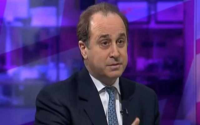 Brooks Newmark (screen capture: YouTube)