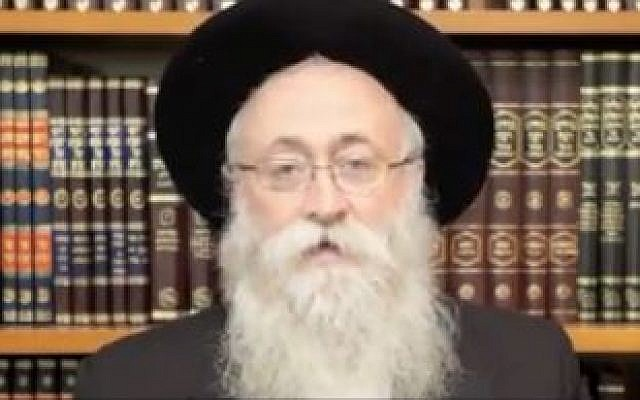 Chabad Rabbi Boruch Lesches (photo credit: screen capture)