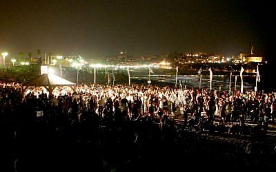 Illustrative photo of a concert (photo credit: Lior Almog/Flash 90)