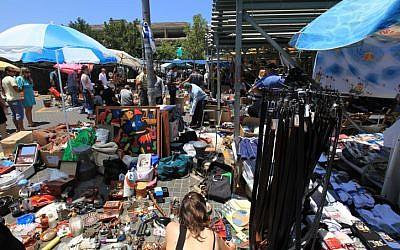 Illustrative photo of Jaffa flea market (photo credit: Kobi Gideon/Flash90)