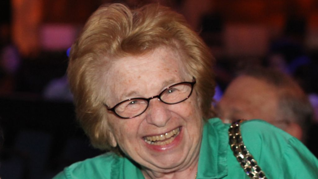 Dr. Ruth Westheimer (photo Credit: Yossi Zamir/Flash90)