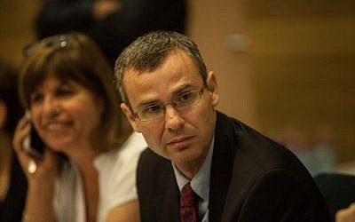 MK Yariv Levin during a discussion at the Knesset, July 24, 2012. (photo credit: Uri Lenz/Flash90)