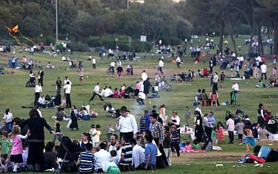 Sacher Park in Jerusalem (photo credit: Nati Shohat/Flash90)