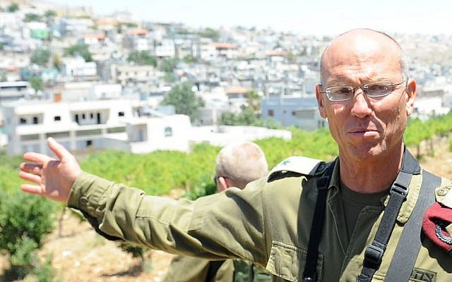 Maj. Gen. Nitzan Alon (photo credit: IDF Spokesman/Flash90)