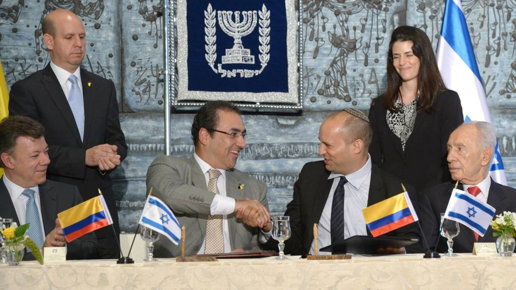 Israel Colombia Sign Free Trade Agreement The Times Of Israel
