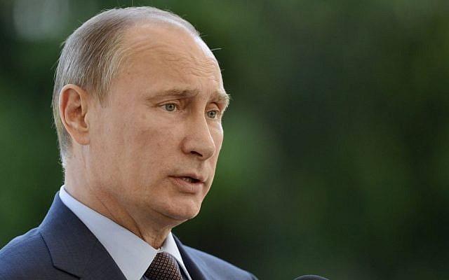 Russian President Vladimir Putin (photo credit: AP/Lehtikuva, Kimmo Mantyla)
