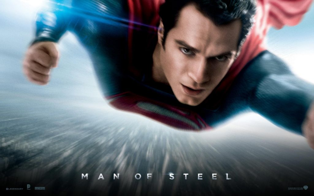 'Man of Steel' poster (photo credit: Warner Brothers)