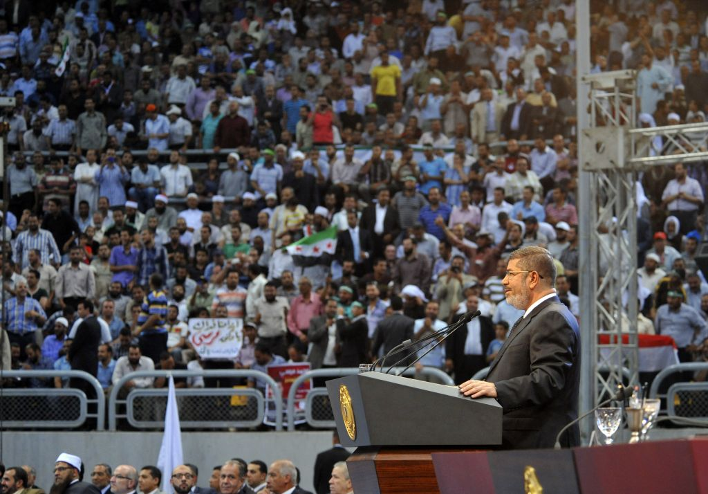 Morsi seen to endorse holy war on Syria | The Times of Israel