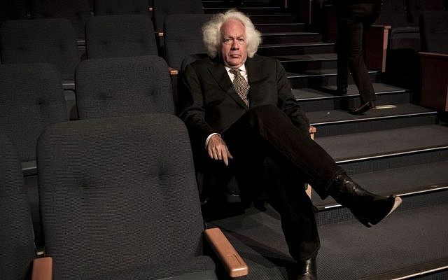 Leon Wieseltier, an intellectual and philosopher who was the literary editor of The New Republic for more than three decades, poses for a photograph in Tel Aviv. (photo credit: AP/Dan Balilty)