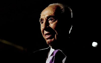 Shimon Peres (photo credit: AP/Sebastian Scheiner/File)