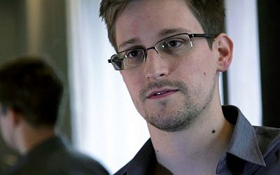Edward Snowden, a former contract employee at the National Security Agency (AP/The Guardian/File)