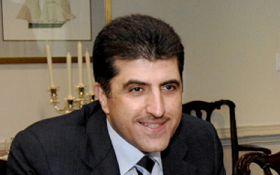 Kurdish PM Nechirvan Barzani (photo credit: US Department of Defense)