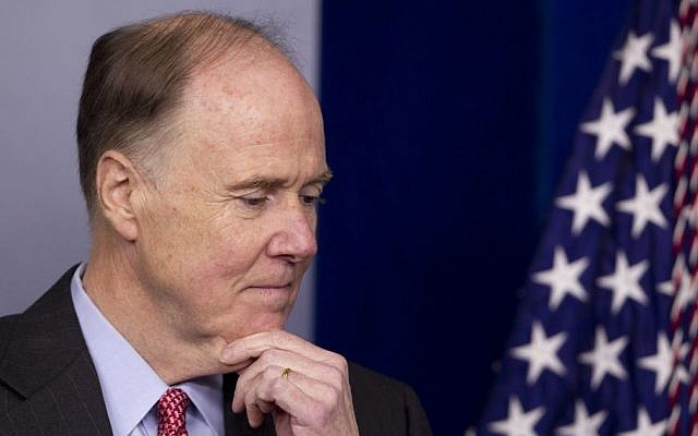 Former US National Security Adviser Tom Donilon. (AP Photo/Carolyn Kaster)