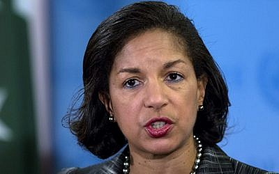 US National Security Advisor Susan Rice (AP/Craig Ruttle/File)